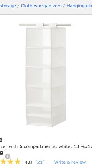 Brand new Skubb organizer with 6 compartments *2 for Sale in Alexandria, VA