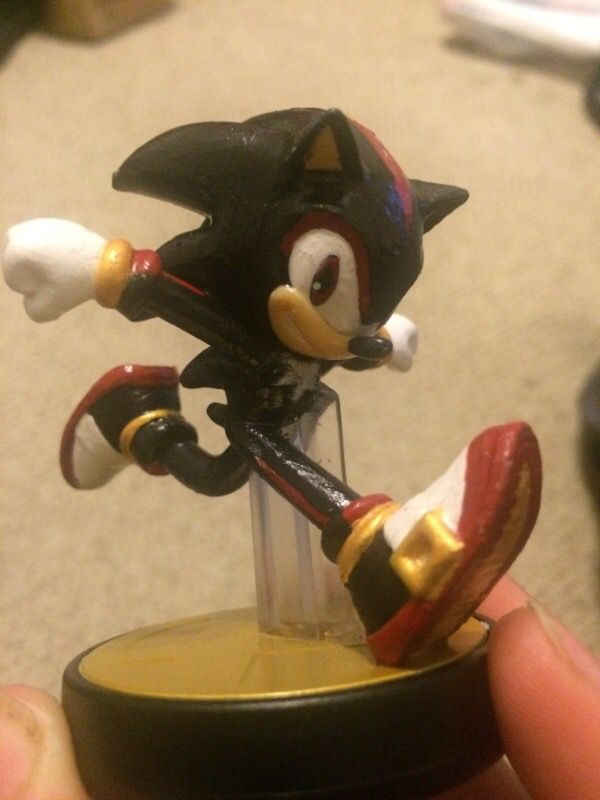 Amiibo Sonic Custom Shadow For Sale In Fort Lauderdale Fl Offerup