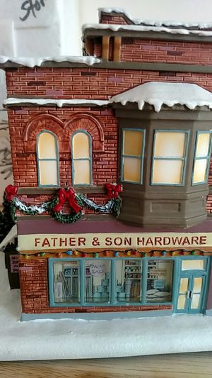 Norman Rockwell's Christmas village Hardware store for Sale in Montclair, VA