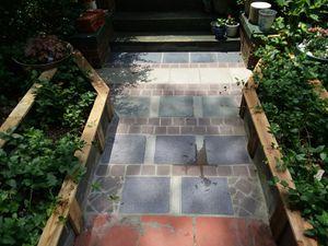 Ceramic tile & slate sidewalk for Sale in Crewe, VA