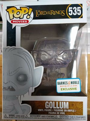 Funko Pop Gollum Invisible Barnes And Noble Exclusive Lord Of The