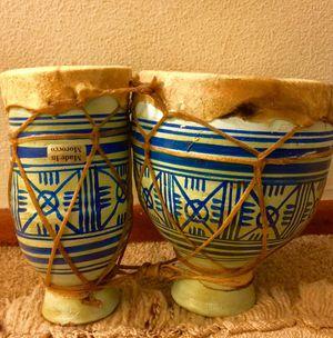 Moroccan bongos for Sale in Seattle, WA