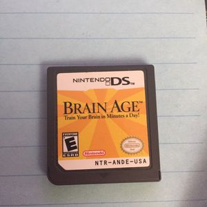 Brain Age 1 & 2 for Nintendo DS for Sale in Halethorpe, MD