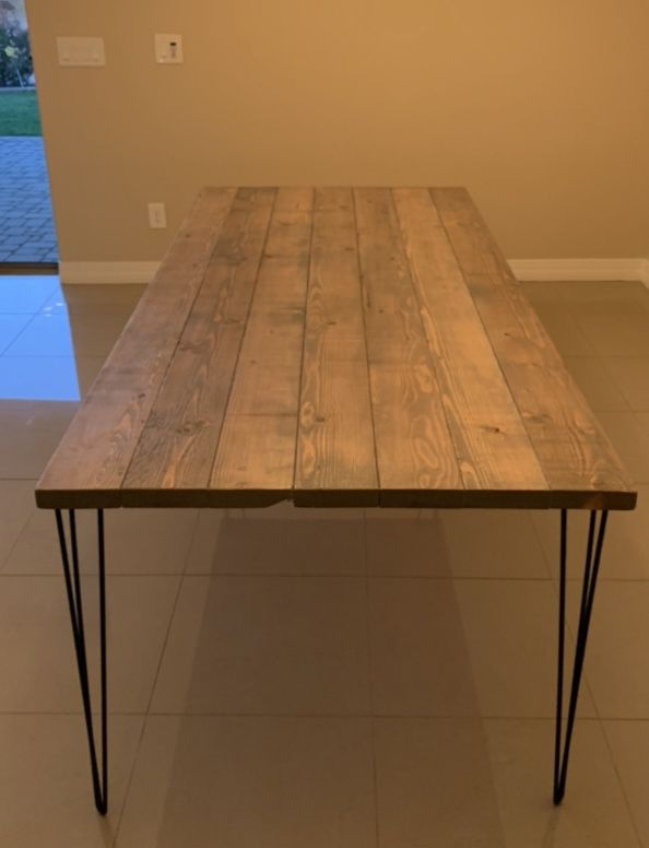 Made To Order Hairpin Leg Tables!