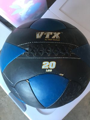 20 lbs CrossFit wall ball by VTX by Troy Barbell for Sale in Plantation, FL