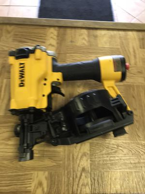 Photo Dewalt Roofing gun new