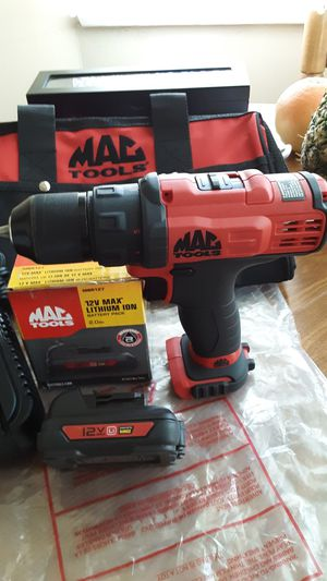 Photo Tool MAC 3/8 Drill/driver Kit 12V. / Pick-up Van Nuys Only, Sanfernado Valley.