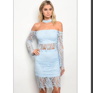 Baby Blue 2 Piece Set for Sale in Washington, DC