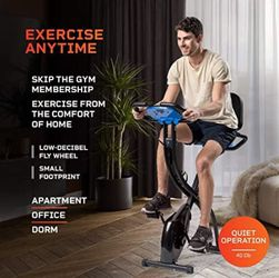 Exercise Whenever You Are With Slim Profile & Foldable Exercise Bike!  Thumbnail