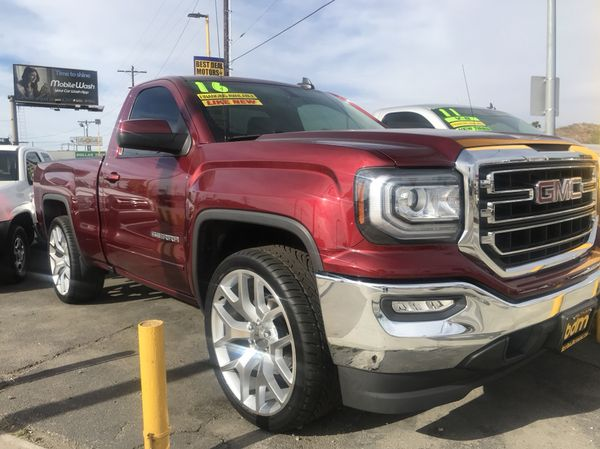 2016 Gmc Sierra 1500 Sle Single Cab Fully Loaded Only 26000 Miles V8 5 3l For In Los Angeles Ca Offerup