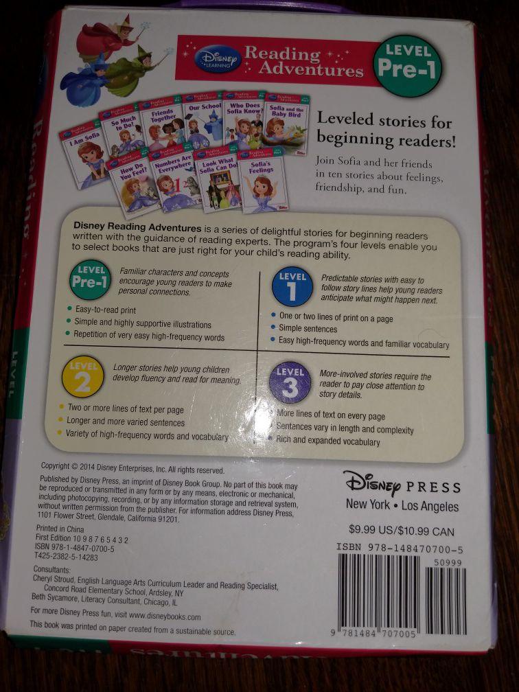 Disney's Sofia the First pre-1 readers box set