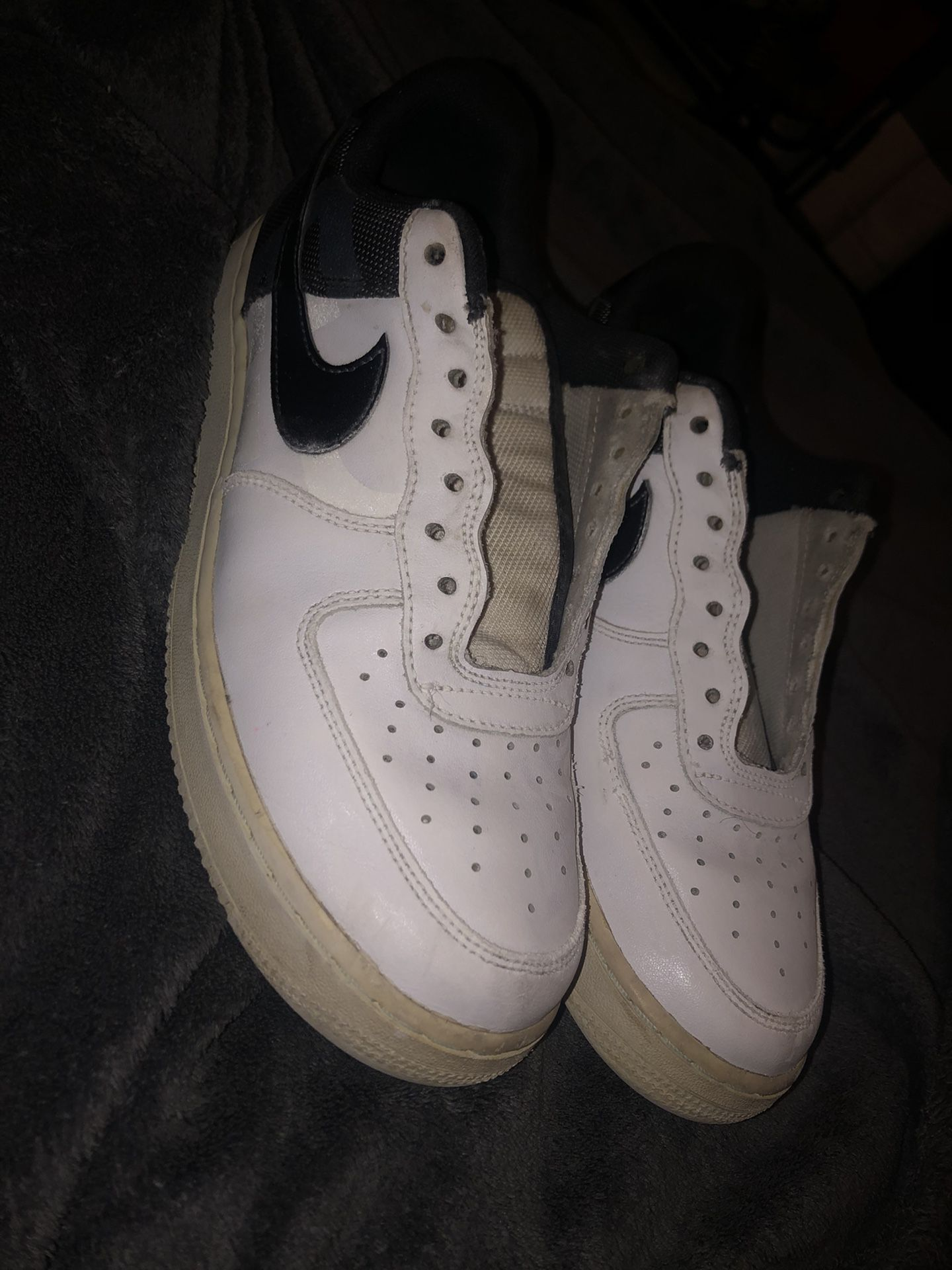 black and white air forces