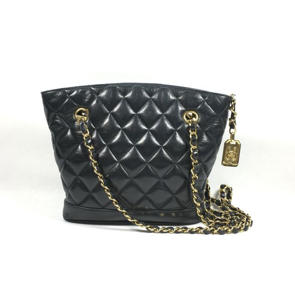 Authentic Chanel Quilted Lambskin Leather Bag for Sale in New York ... d3cde27edbcce