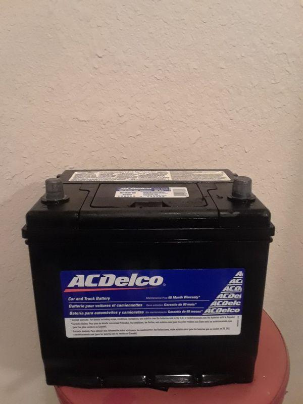 Brand New A C Delco Battery Top Post Tulsa
