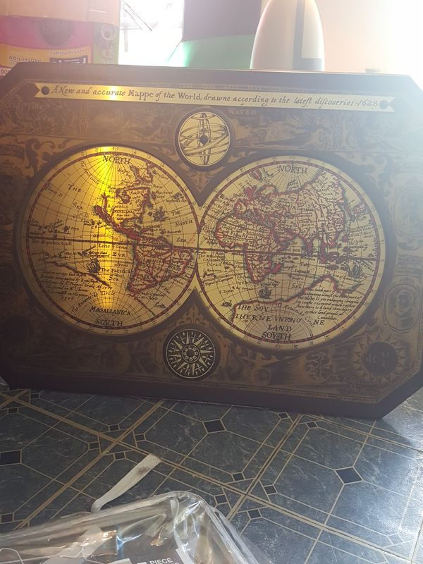 A New And Accurate Map Of The World 1628.Vintage New World Map For Sale In Brooklyn Ny Offerup
