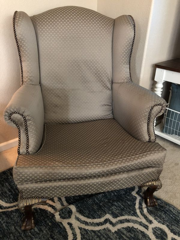 gorgeous wingback chairs for sale in stockton ca offerup