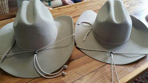 55e3900a4 Stetson Marlboro Ranch Branded Cowboy Hat - 2 for Sale in Loxahatchee, FL -  OfferUp