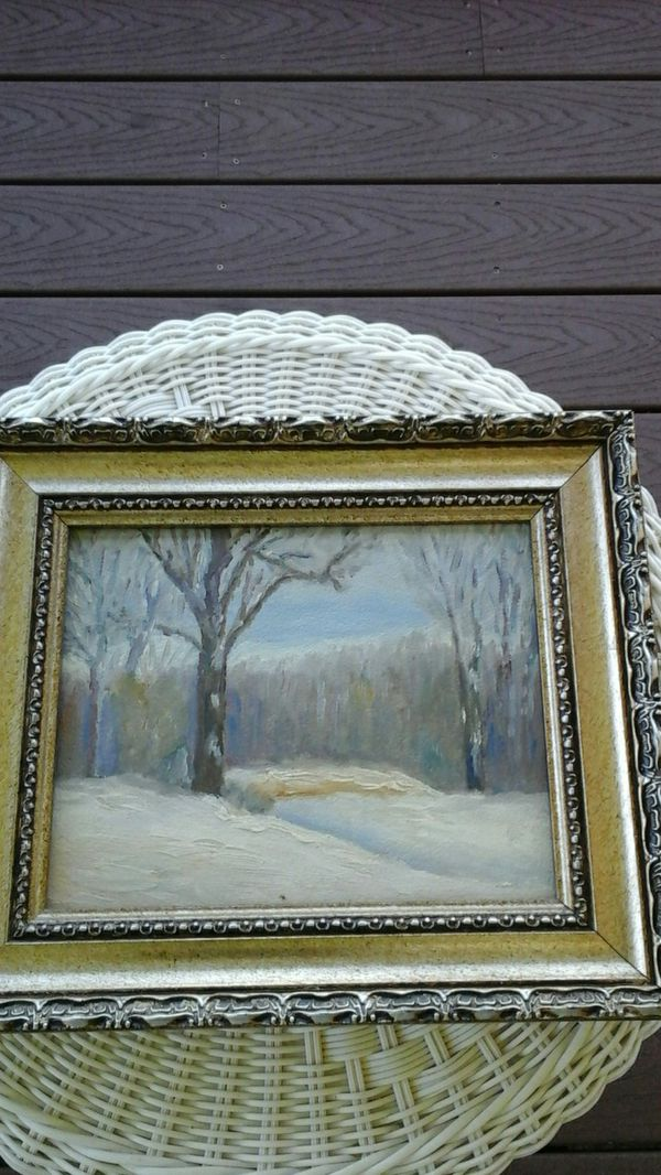 Beautiful Framed Oil Painting (Household) in Vernon, CT - OfferUp