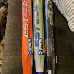 Brand New Softball Bat USSSA NIW Worth Miken Thumbnail