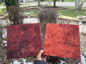 Photo Square cotton red tie dye wall hanging decor frames