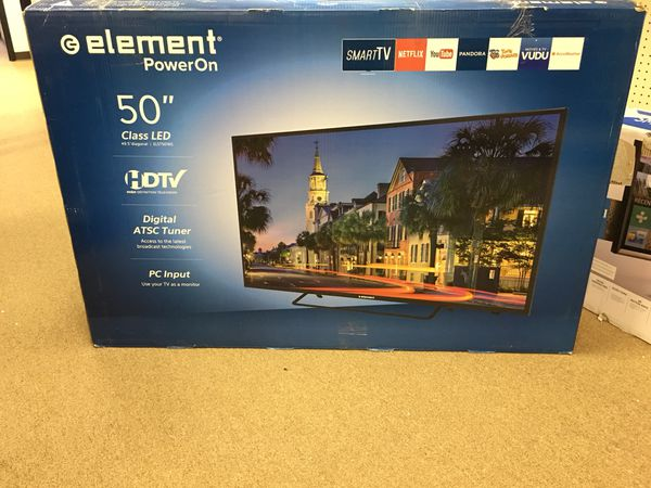 "Element 50"" LED HDTV 1080p Smart WiFi Built In Model: ELST5016S for Sale in  Berkeley Lake, GA - OfferUp"