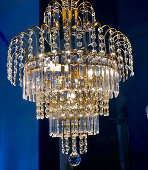 Photo Vintage style chandelier., absolutely beautiful!