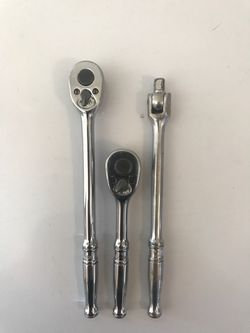"""Snap-On 1/4"""" drive Ratchets and Breaker Bar Thumbnail"""