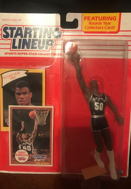 David Robinson Starting Lineup Figure For Sale In Flower Mound Tx