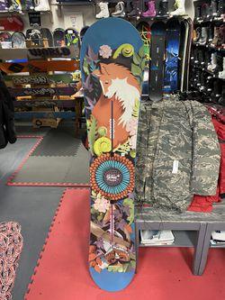 new burton 151 snowboard with 3 year warranty Thumbnail