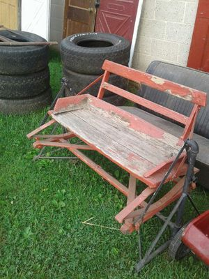 Antique Rustic Glider for Sale in Frederick, MD