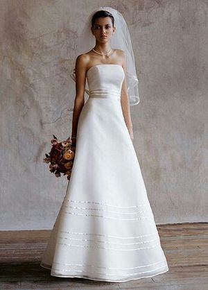 David's Bridal size 14 used once but need to be steam. for Sale in Las Vegas, NV