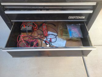 Craftsman Roll Around Tool Box With Tools Thumbnail