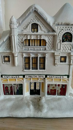 Norman Rockwell's Christmas village Antique store for Sale in Dale City, VA