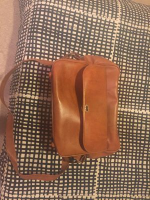 Vintage Leather Brown Messenger Bag! for Sale in Washington, DC