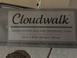Cloudwalk Orthopedic Foam Rug For