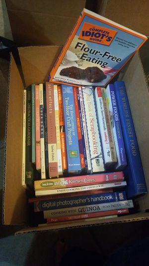 26 Hardcover &Paperback D.I.Y Books&Cookbooks for Sale in Phoenix, AZ