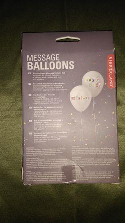 MESSAGE PARTY BALLOONS Thumbnail