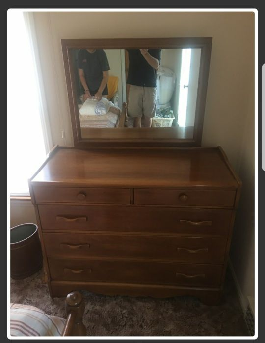 Cushman Colonial Creations Dresser Mirror For Sale In Rocky River