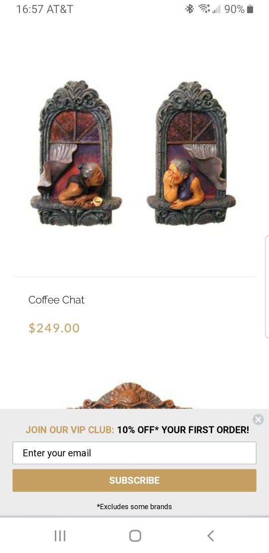 Coffee Chat Art Work