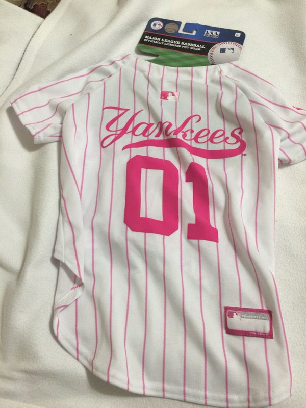low priced a638b 52730 Pet First MLB New York Yankees Dog Jersey Large for Sale in Hollywood, FL -  OfferUp