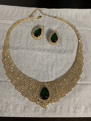 Party any occasion jewelry necklace and earrings set delicate for Sale in Takoma Park, MD