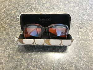7e489befc8 Brand new Coach sunglasses with case for Sale in Tyler