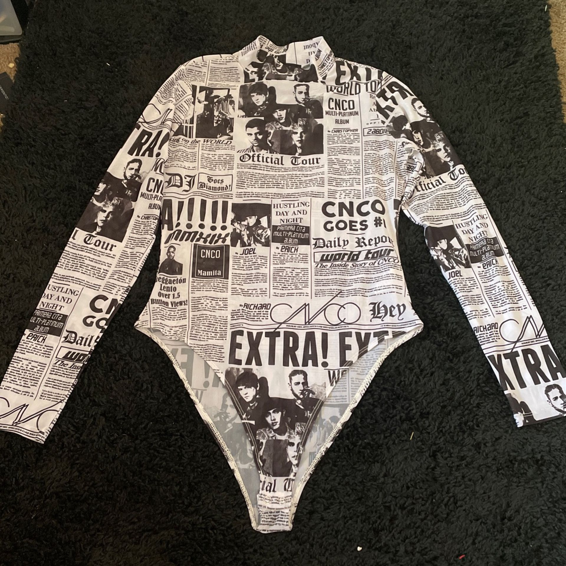 size L, see thru shirt, worn once
