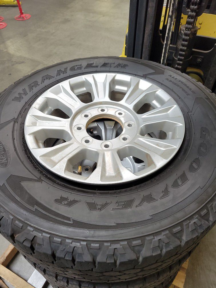 Set Of Rims And Tires Good Condition $200