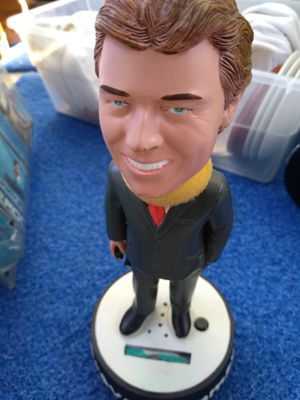 Trevor's caller of races with sound Bobble Head for Sale in San Diego, CA