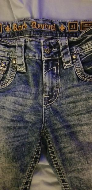 Photo Gently used Rock Revival Jean's size 31
