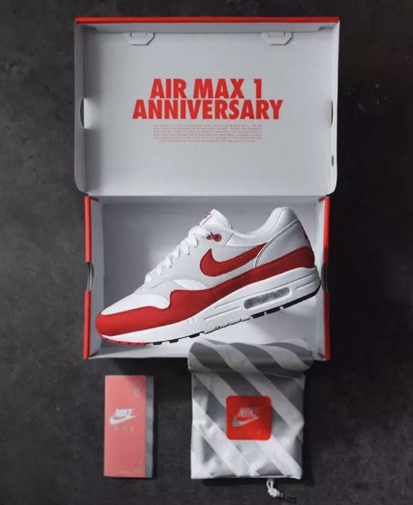 edc07cc17990 Size 12 Nike Air Max 1 OG  Anniversary  brand new in box with receipt