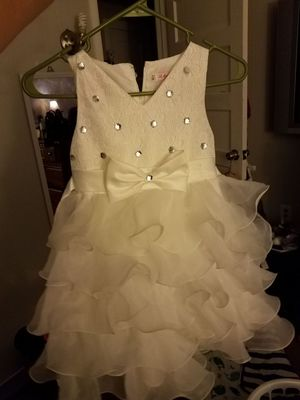 Girls white dress. for Sale in York, PA