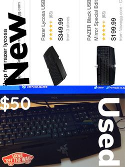 Razer keyboard mechanic USED!! Thumbnail