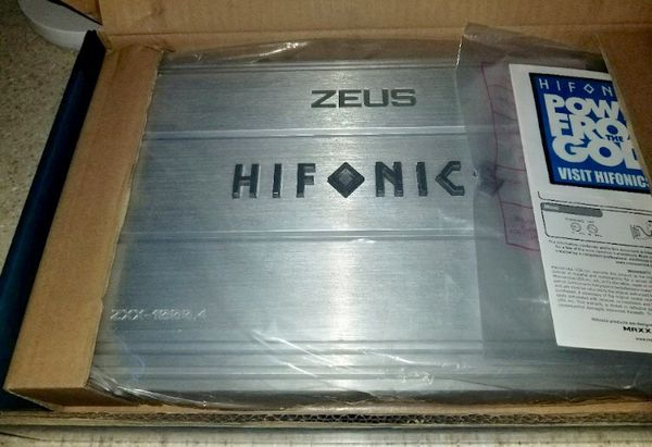 Brand new Hifonics 1000 4 4channel amp for Sale in Manchester, PA - OfferUp